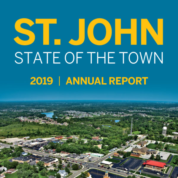 """St. John State of the Town 2019 Annual Report"""